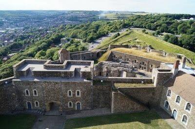 Torre homenaje castillo de Dover