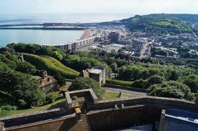 Torre homenaje castillo de Dover vistas