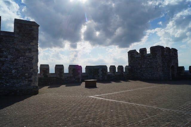 tejado Torre homenaje castillo de Dover