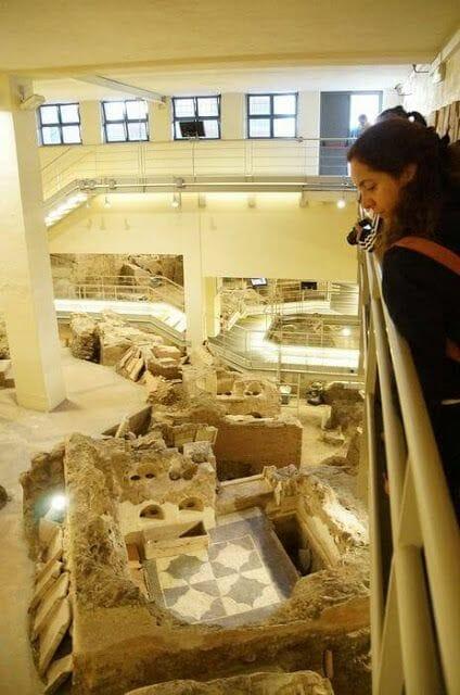 restos arqueologicos Necropolis via triumphalis