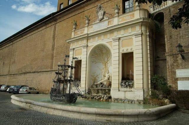 muro vaticano