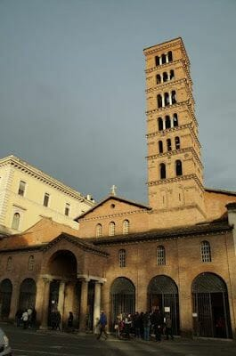 la iglesia Santa María in Cosmedin