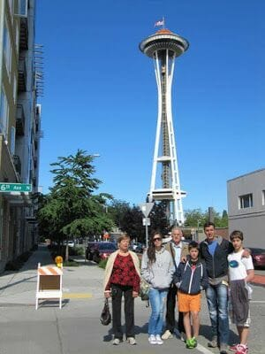 space needle, Seattle, torres de tv