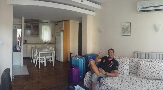 nuestro apartamento en Estambul 2015