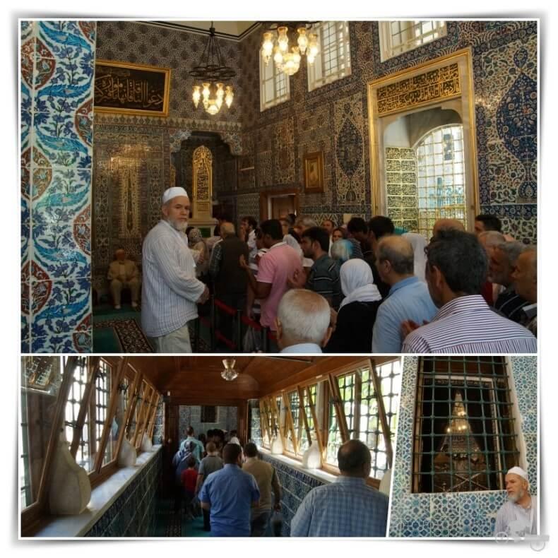 interior Mezquita de Eyüp Sultan