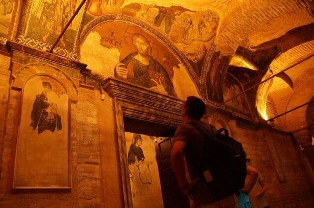 iglesia de San Salvador de Chora en Estambul