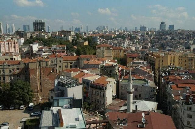 vistas torre Gálata