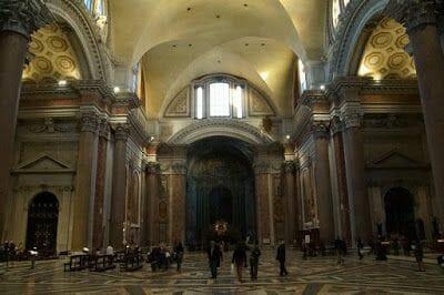 Termas de Constantino y Santa Maria de Angeli.