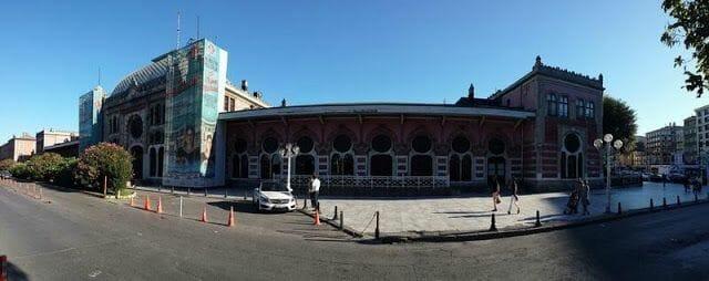 Estación del Orient Express estambul