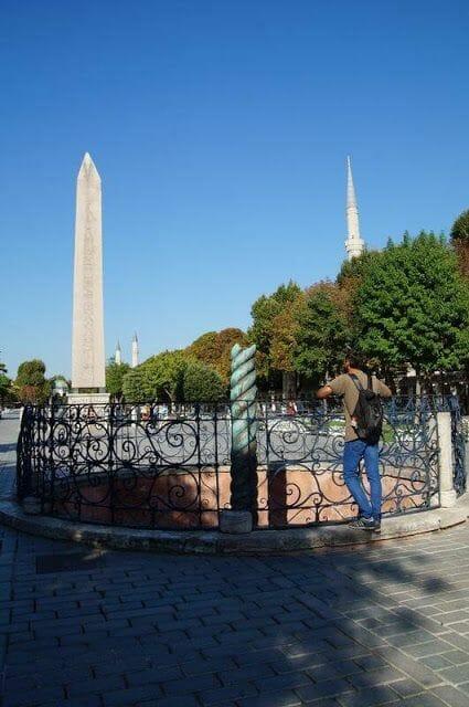Columna serpentina - Cuerno de Oro Estambul