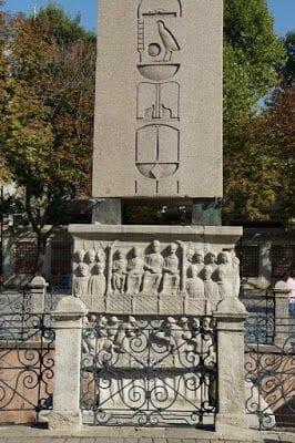 obelisco de Tutmosis III - Cuerno de Oro Estambul