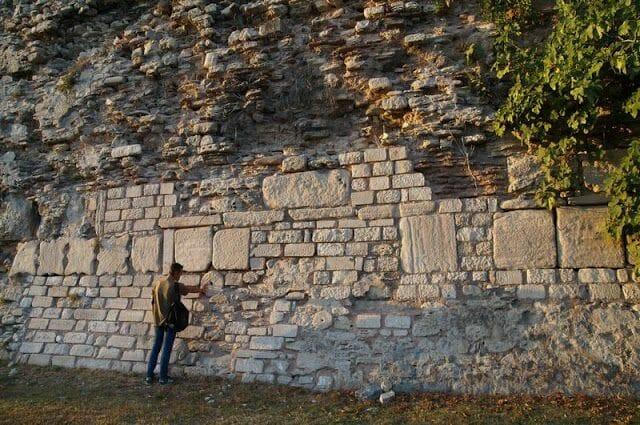 muro del Palacio de Bucoleon - Cuerno de Oro Estambul