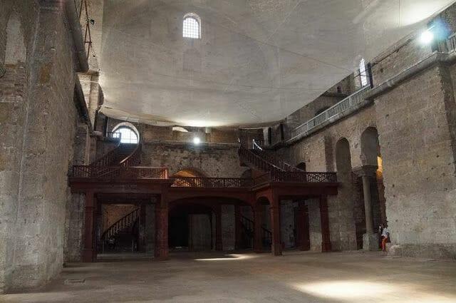 interior de la Iglesia de Santa Irene