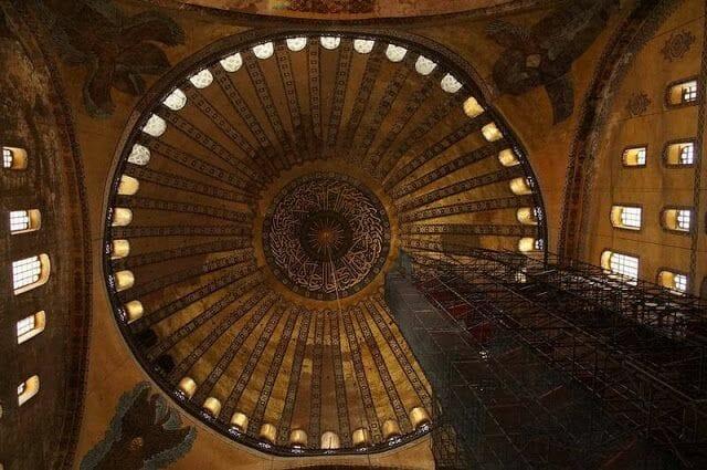 cupula santa sofia estambul