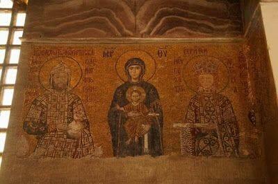 mosaicos  Hagia Sofia