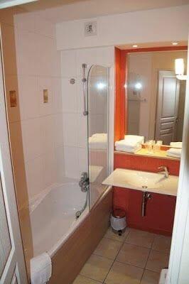 baño - Alojamientos en Blois y Amboise