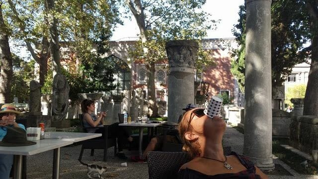 bar Museo arqueológico de Estambul