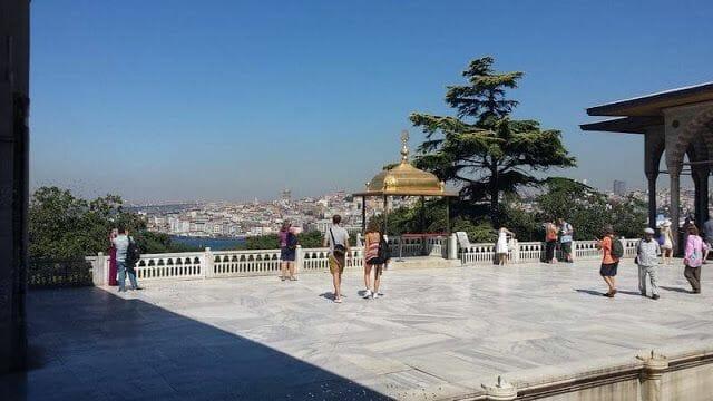 vistas estambul desde palacio de topkapi
