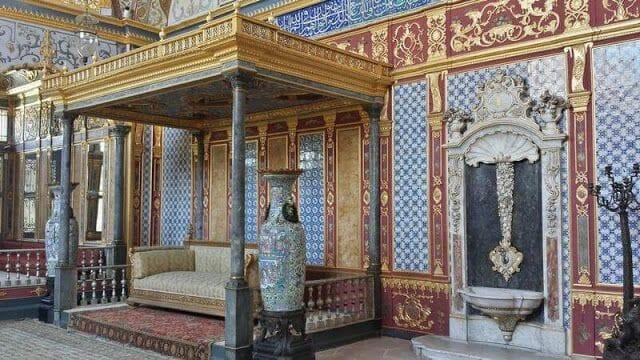 trono del Salón Imperial de topapi