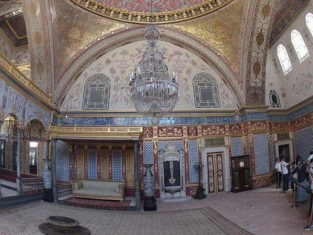 Salón Imperial del Harén del Palacio Topkapi