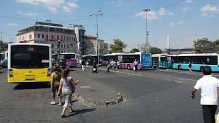 Parada de Eminonü de Estambul