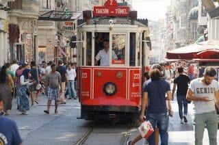 Tranvía de Istiklal (Taksim-Tünel)