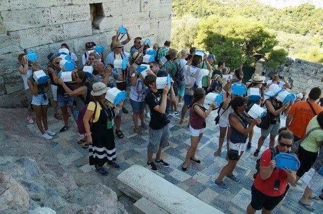 multimedia del Partenon