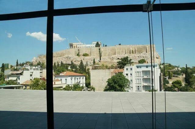 vistas acropolis desde museo arqueológico