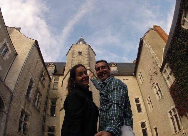 el castillo Dunois de Beaugency