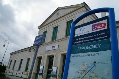 estacion tren Beaugency