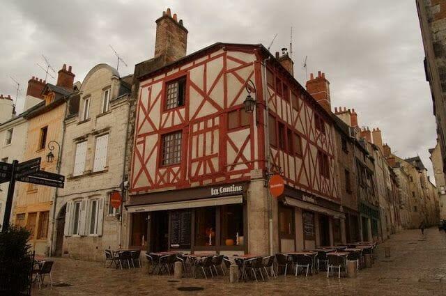 Casas medievales restauradas que ver en Orleans