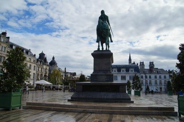 plaza Martroi de Orleans