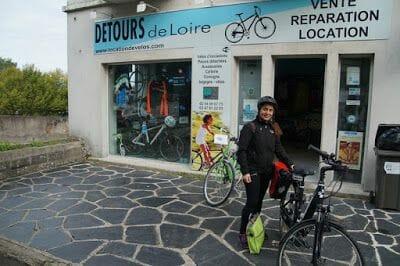 alquilamos biciccletas para hacer tramo ruta castillos Loira