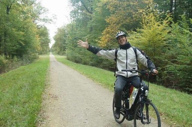 bicicleta por Francia