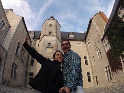 Castillo de beaugency en la ruta castillos Loira