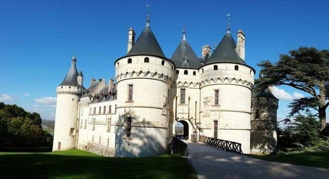 castillo y del Festival Internacional de los jardines de Chaumont