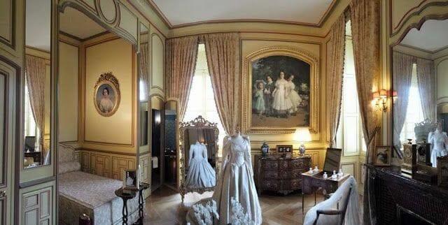 salas del castillo de Cheverny