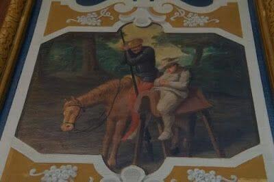 salas del castillo de Cheverny quijote