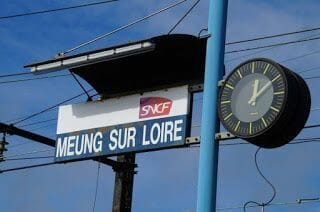 Tren Orléans-Meung-sur-Loire