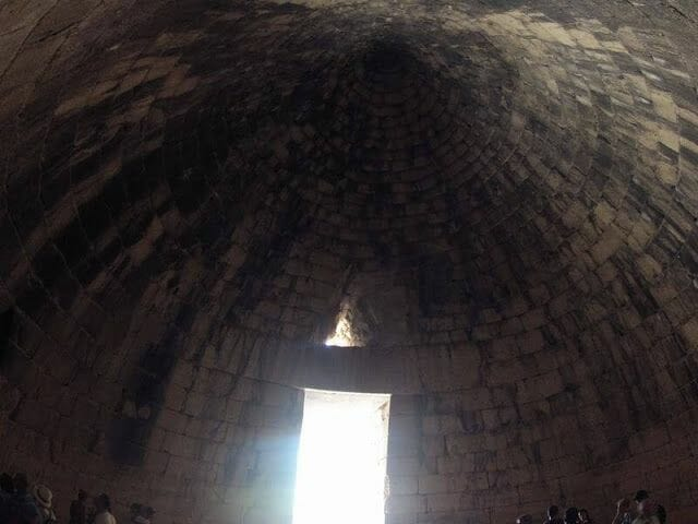 tholos de la tumba de Agamenón