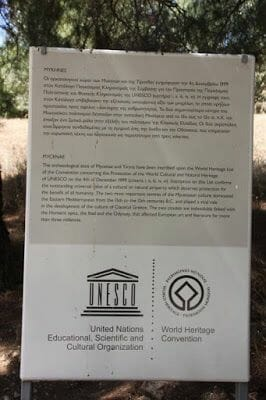 Micenas patrimonio Unesco