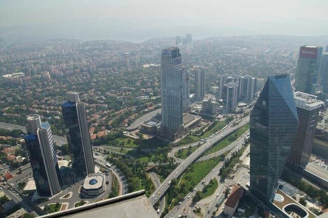 piso 56 mirador torre sapphire tower Estambul