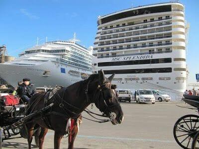 crucero en Palermo