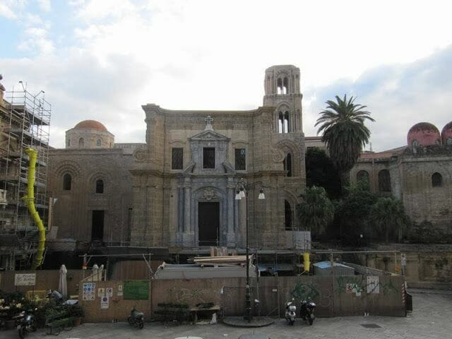 fachada iglesia Martorana en Palermo