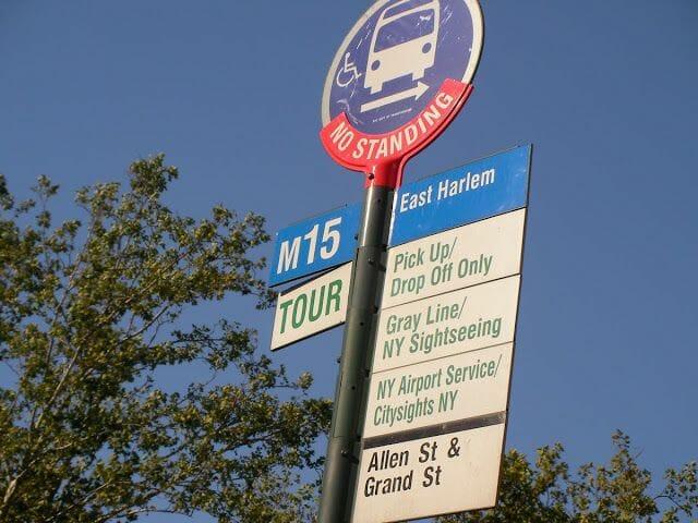 bus turístico, bus turístico Nueva York, autobús turístico de New York, paradas de bus turistico NY