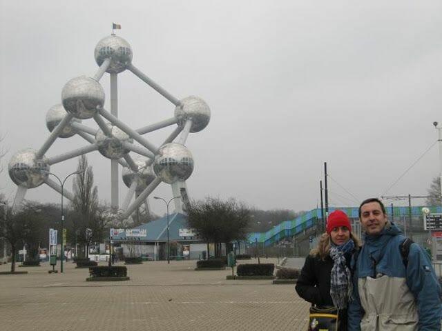 Visita del Atomium Bruselas