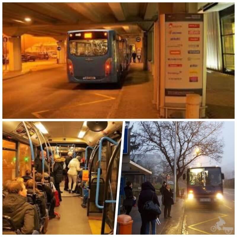 autobus budapest - transporte público de Budapest