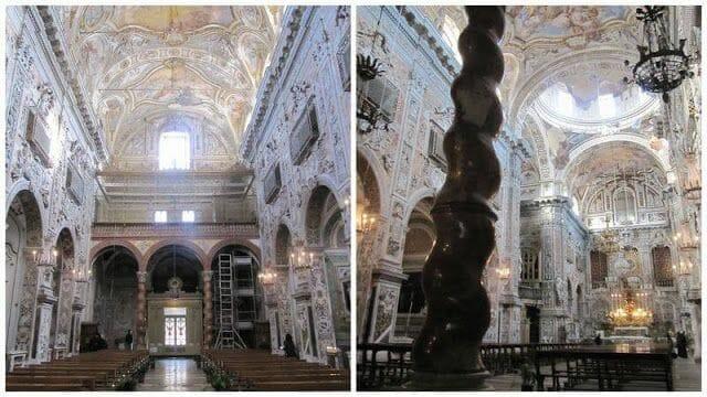 crucero Palermo, iglesias de Palermo, iglesias barrocas, iglesia de santa caterina, chiesa di santa caterina, barroco Palermo, barroco siciliano