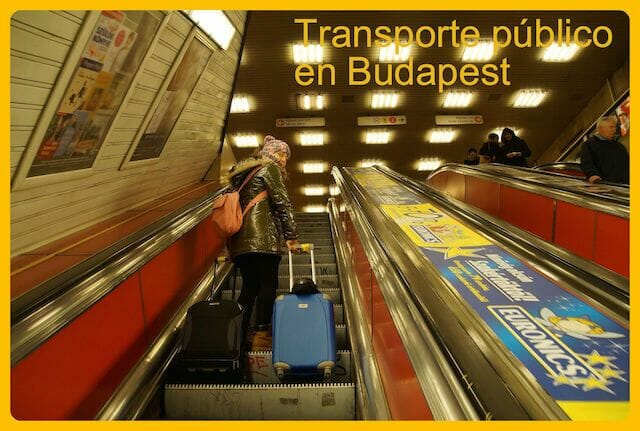Tipos de transporte público en Budapest