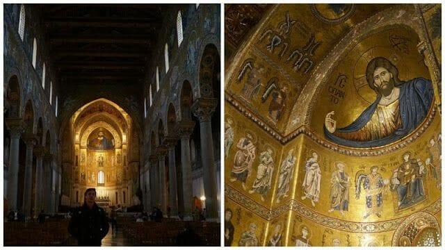 crucero Palermo, iglesias de Palermo, iglesias normandas, catedral de Monreale